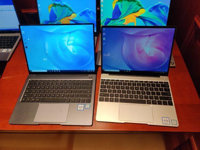 Huawei présente ses portables MateBook D14 et D15