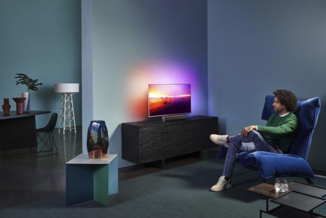 Philips : trois nouvelles références de téléviseurs 4K avec Ambilight