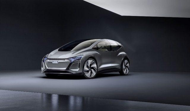 Audi AI:ME est la nouvelle voiture électrique intelligente d'Audi.