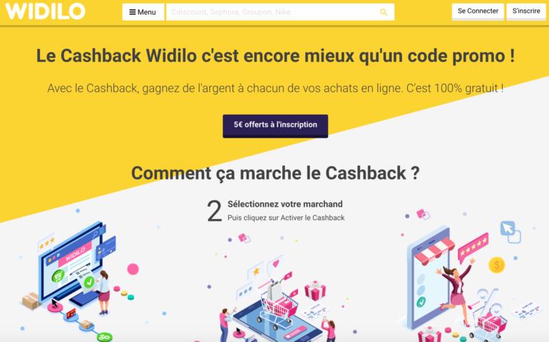 Le cashback nouveau réflexe pour les bonnes affaires avec Widilo