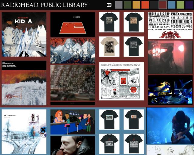 Radiohead ouvre une «bibliothèque publique» en ligne