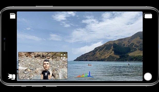 DoubleTake Jump Start, une appli sur iOS.