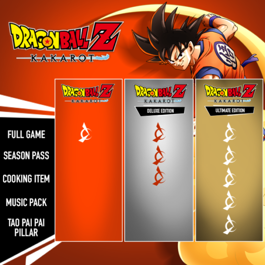 Comparaison des éditions PC de Dragon Ball Z: Kakarot