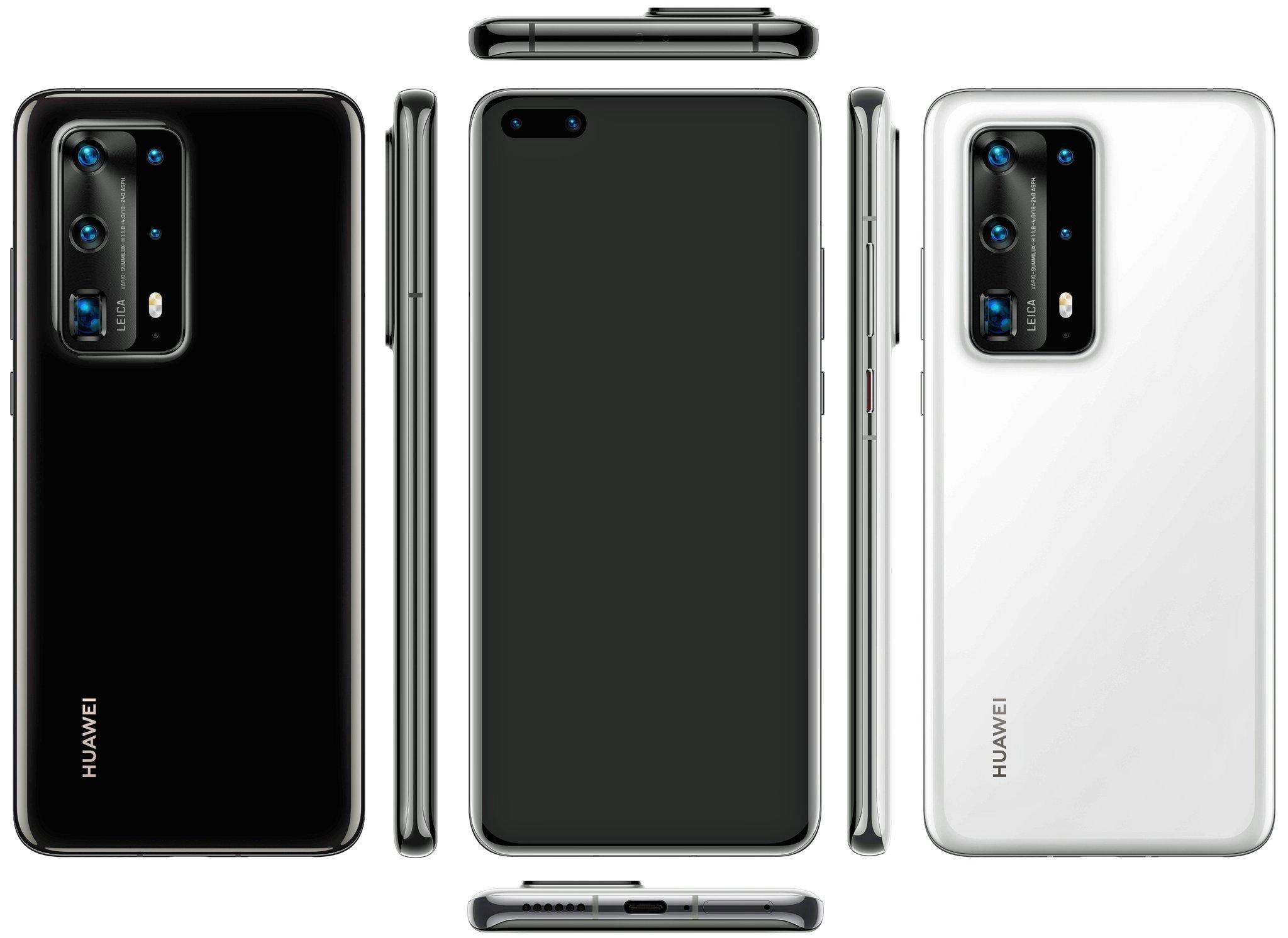 Huawei : le gros bloc photo du P40 Pro se dévoile
