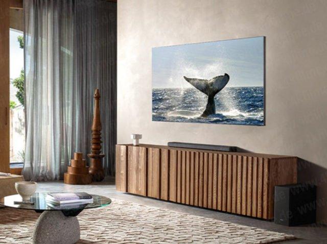 Samsung : la TV 8K totalement sans bord se dévoile (et c'est plutôt réussi)