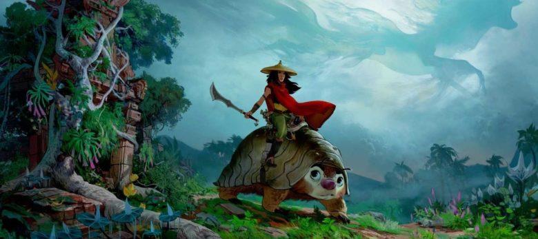 La première image de Raya et le Dernier Dragon.
