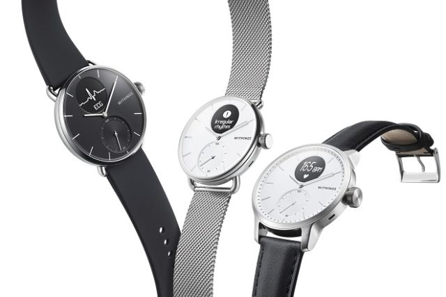 La nouvelle ScanWatch de Withings.