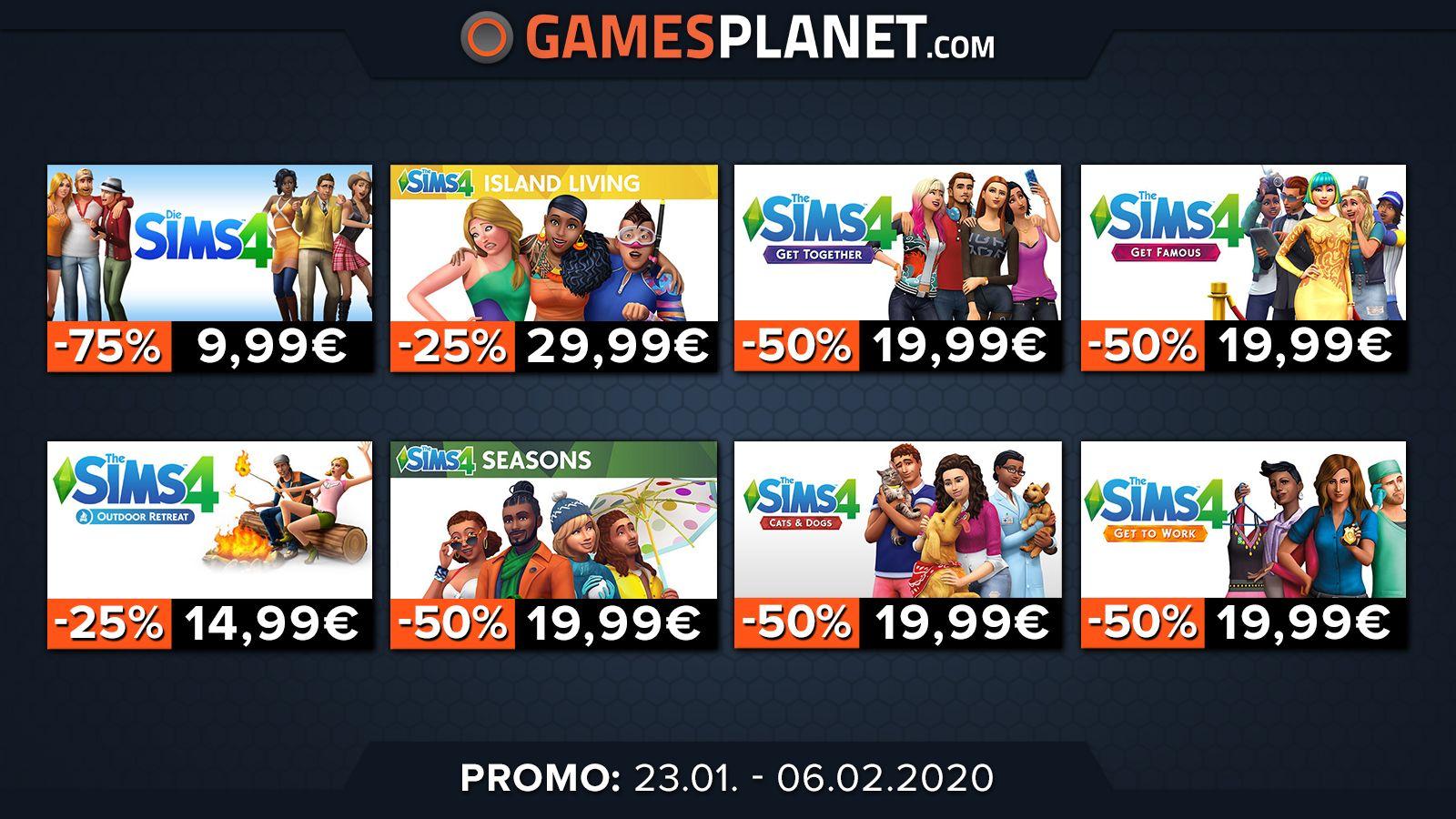 Gamesplanet : Les Sims 4 à -75%, Borderlands 3 à 35,99€ et d'autres !