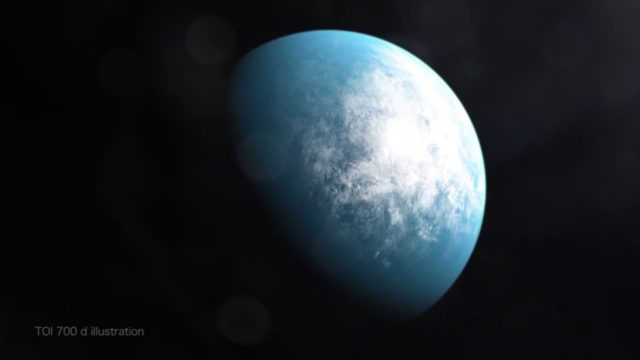 Découverte d'une planète dans une