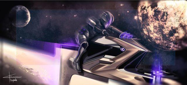 Lexus imagine des véhicules lunaires