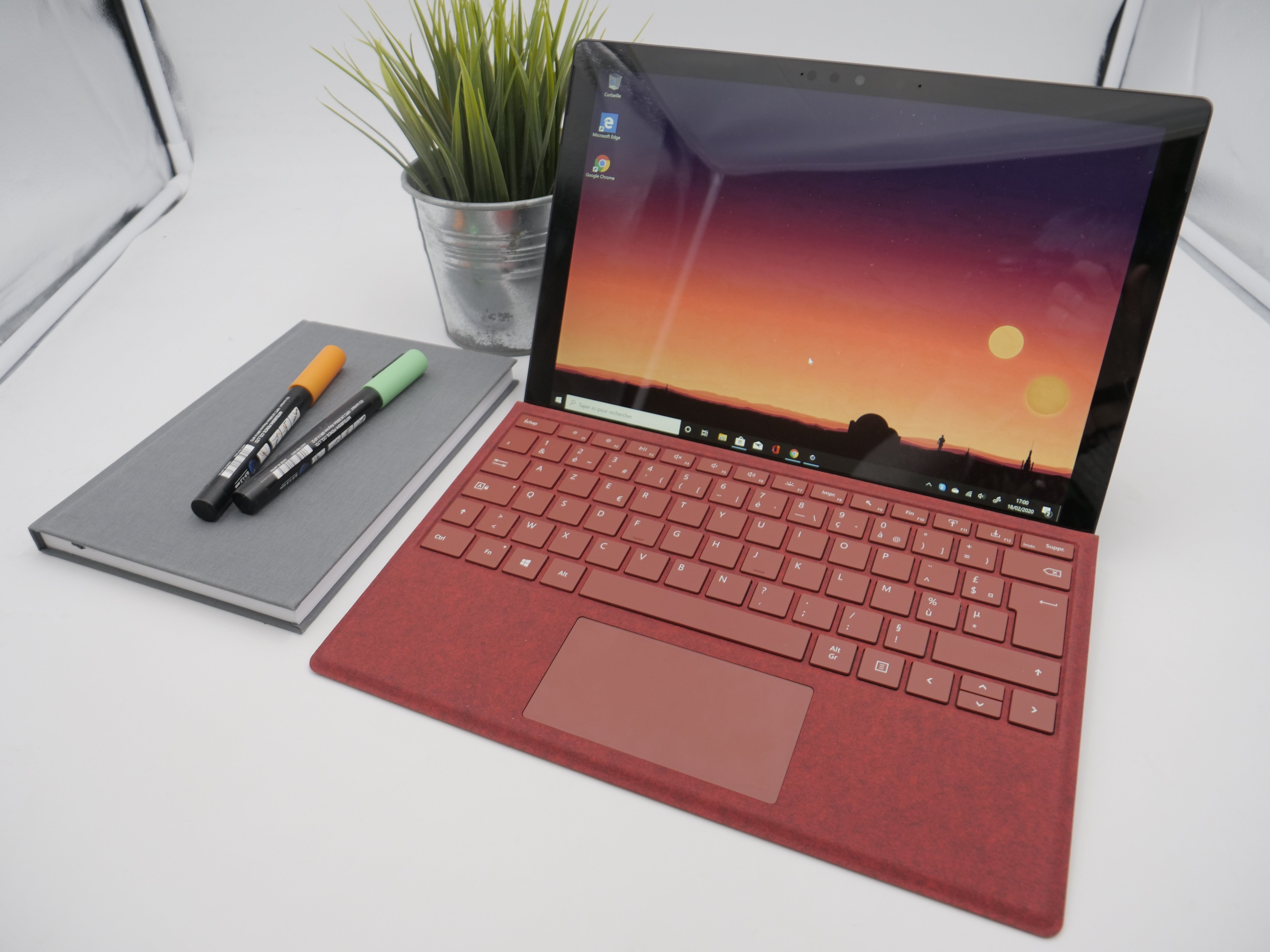 Surface Pro 7 Test