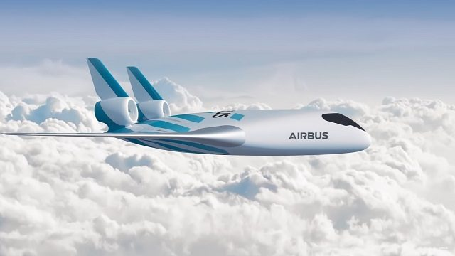 Le prototype Maveric d'Airbus.