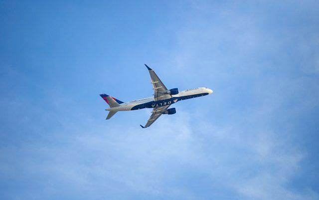 Un avion Delta Airlines.