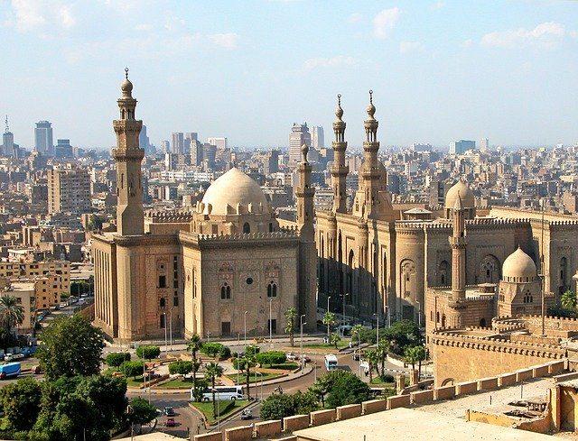 La mosquée du Caire, en Egypte.