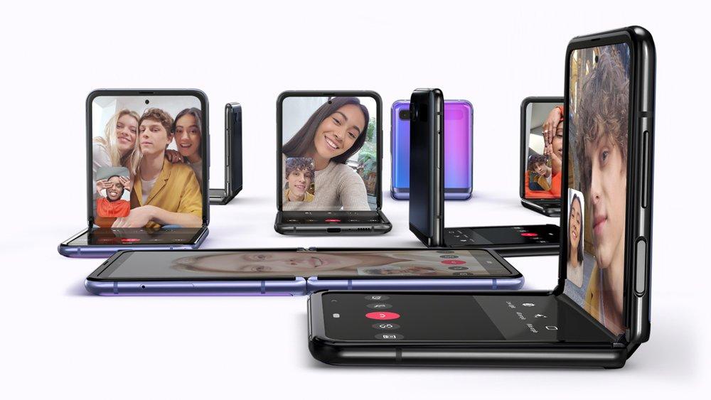 Samsung Galaxy Z Flip, le second smartphone pliant de Samsung est officiel