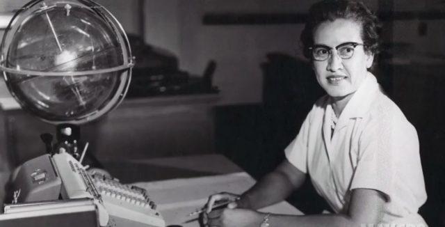 Katherine Johnson de la NASA.