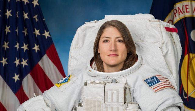 Christina Koch, astronaute de la NASA.
