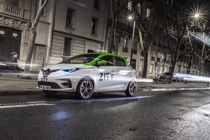 Renault lance Zity à Paris, un service d'autopartage de véhicules 100% électriques | Journal du Geek