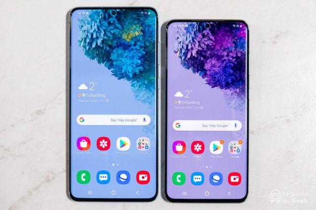 Samsung Galaxy S20 et S20+