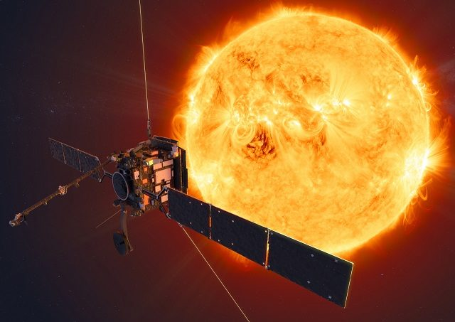 La sonde Solar Orbiter de l'ESA.