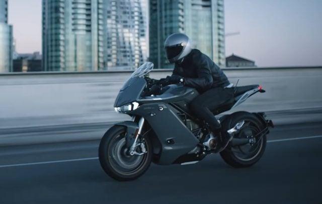 La nouvelle moto Zero SR/S.