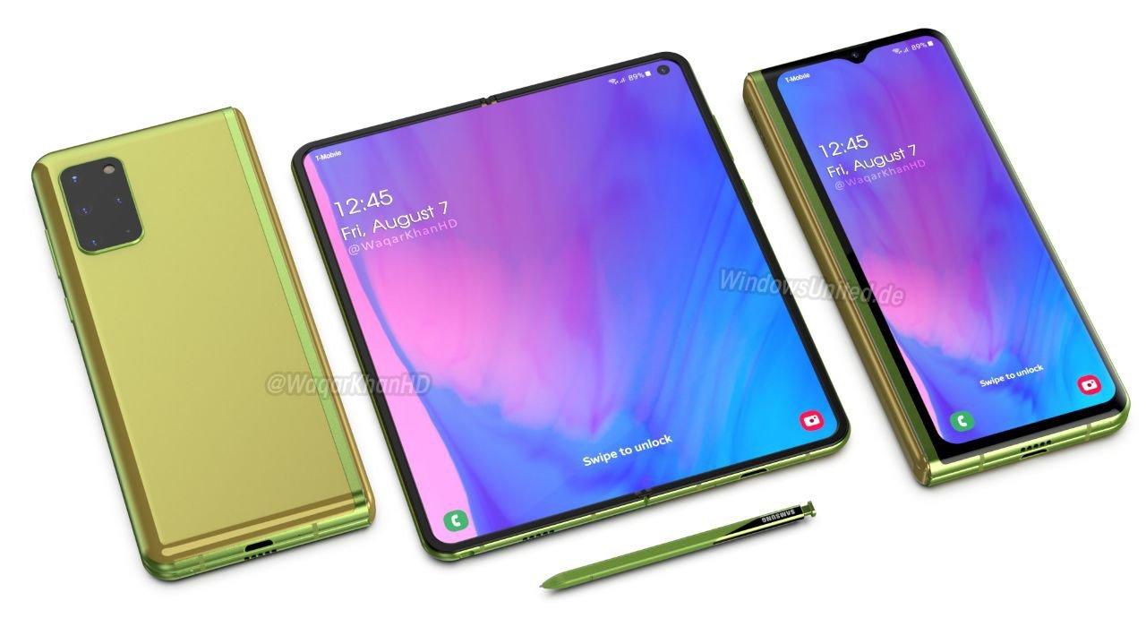 Samsung : voilà à quoi pourrait ressembler le Galaxy Fold 2