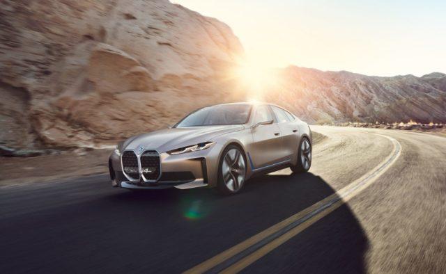 La BMW Concept i4.
