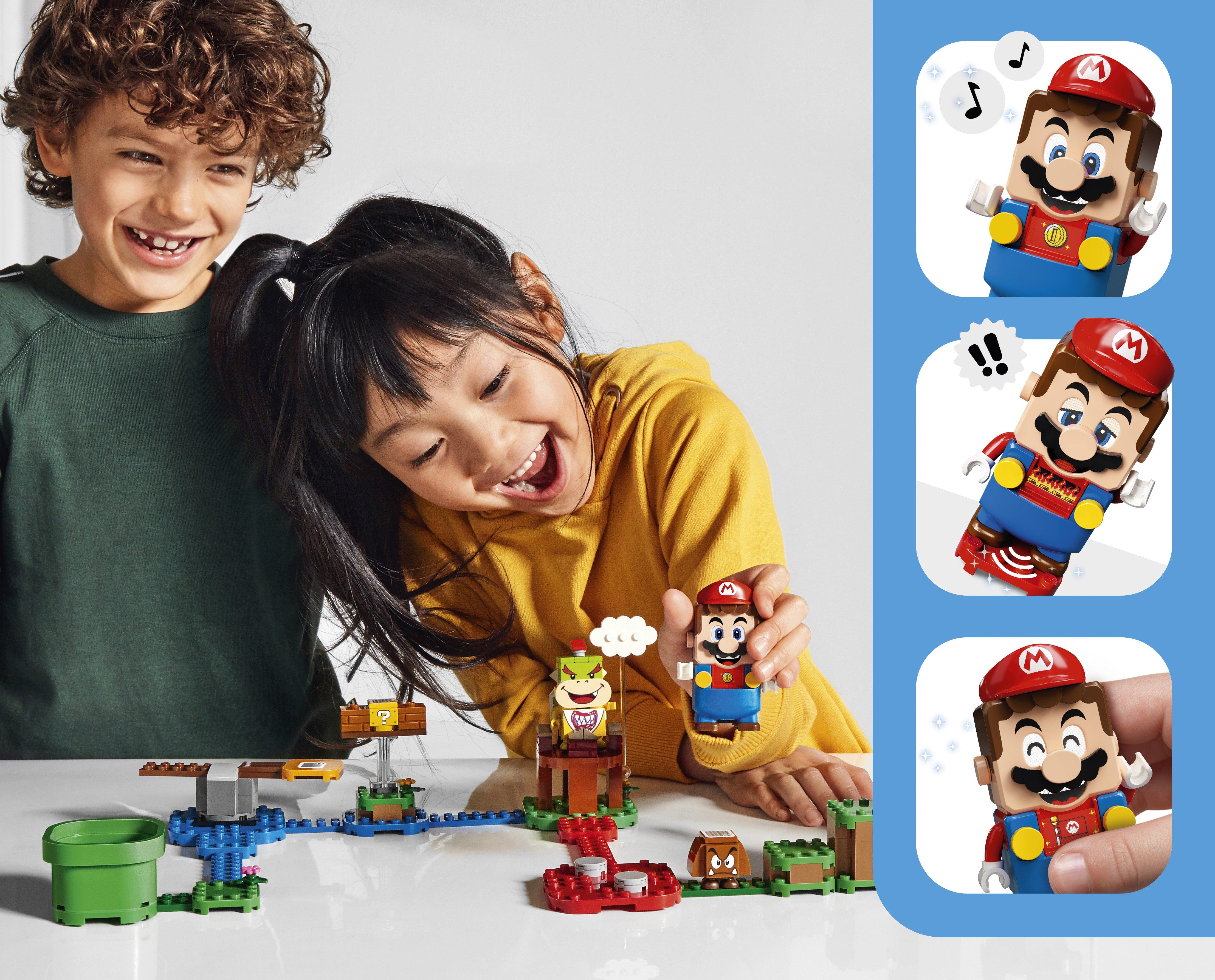 Super Mario : le partenariat avec LEGO se dévoile en images