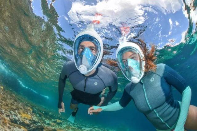 Masque de snorkeling Easybreath