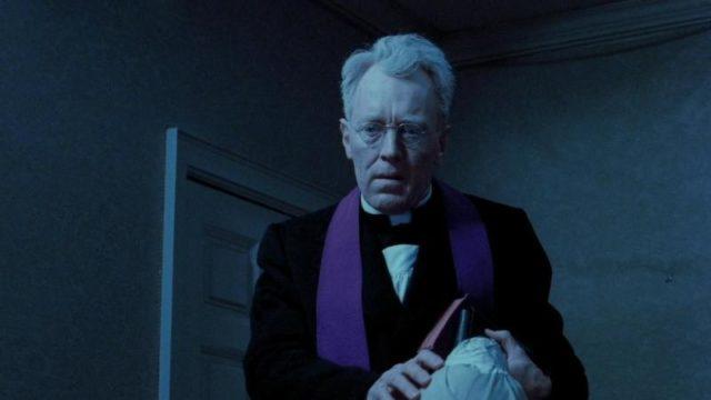 Max Von Sydow dans L'Exorciste.