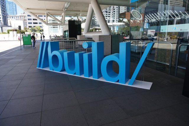 Microsoft Build.