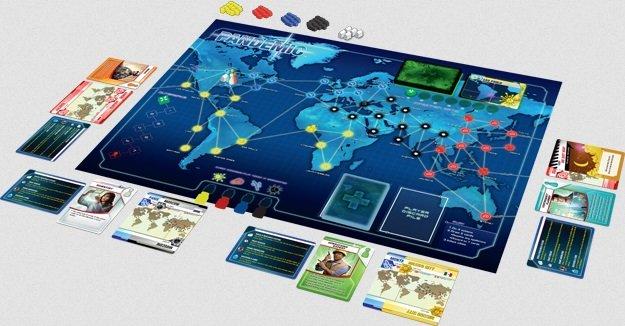 Le jeu de société Pandemic.