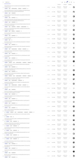 Informations de VirusTotal sur les applications Tekya
