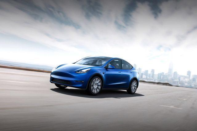 La Model Y. Image: Tesla