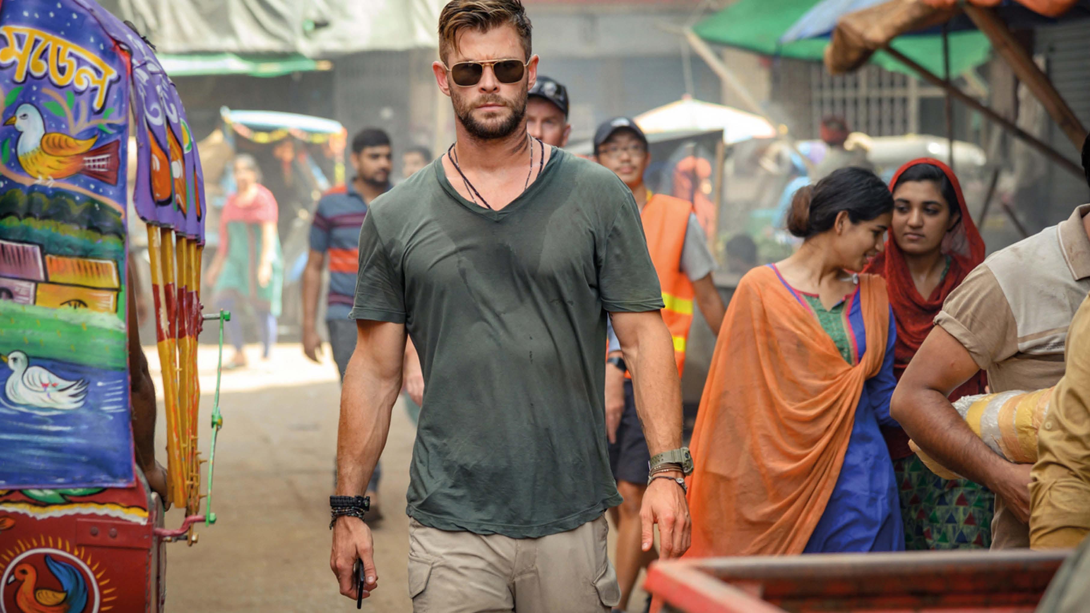 Chris Hemsworth en mercenaire chevronné (bande-annonce) — Tyler Rake