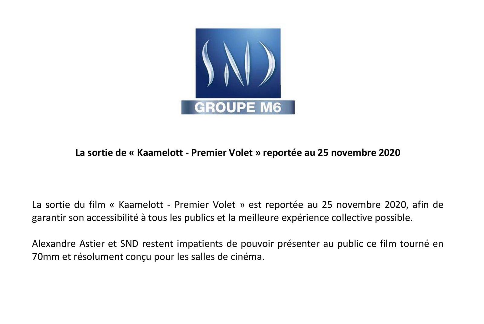 La sortie du film Kaamelott - Premier volet est repoussée !