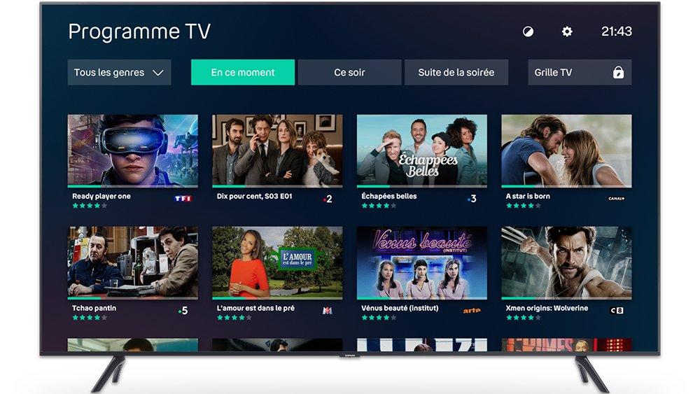 Bouygues Telecom s'associe à Samsung pour faire disparaître les box TV