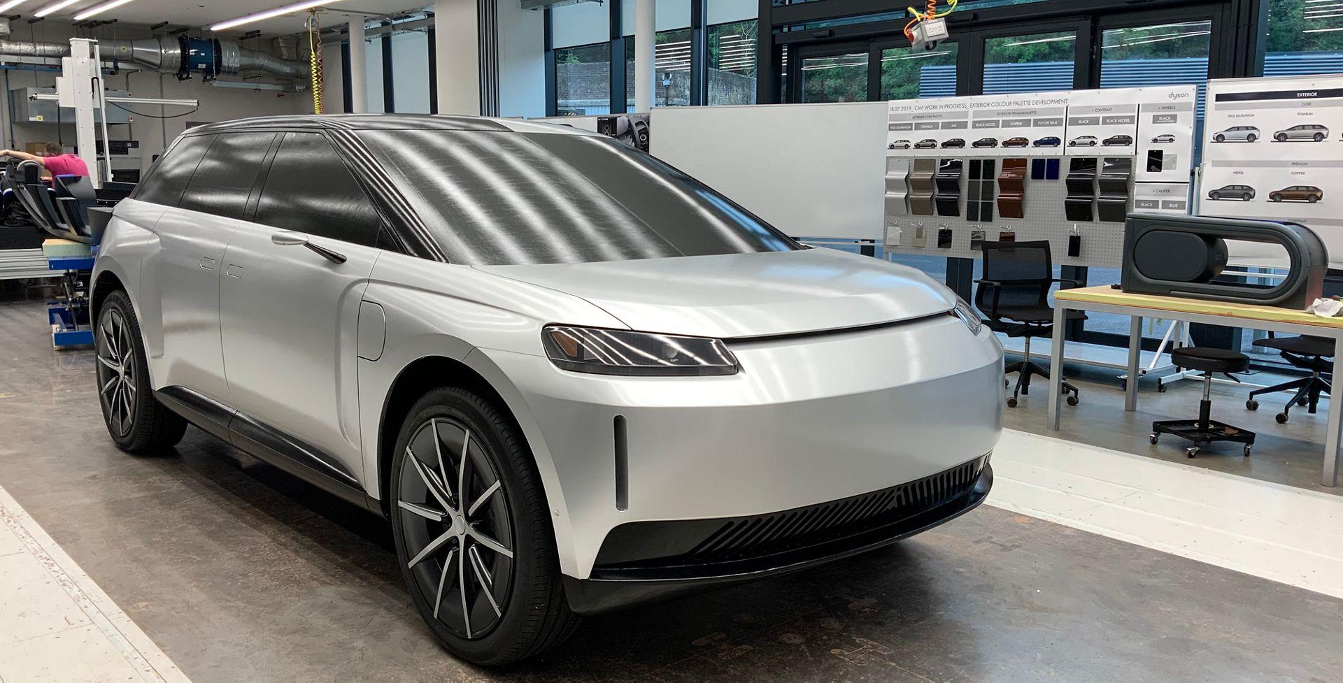 Dyson : la voiture qui devait concurrencer Tesla se dévoile en détails