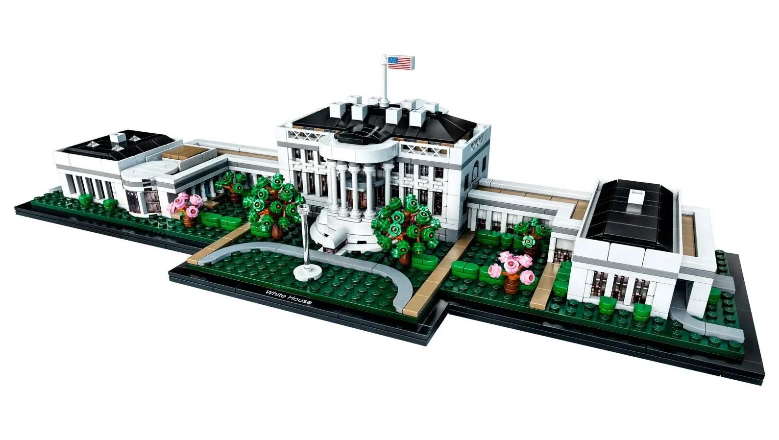 Maj Lego Pas De Promotion Des Lots Police Et Maison Blanche Pendant Le Blackout Tuesday