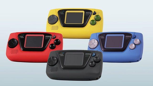 Une micro-console portable, prix et date de sortie — Game Gear Micro