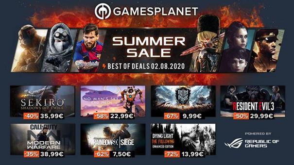 [Soldes Gamesplanet] Plus de 2300 jeux soldés, voici les 50 offres immanquables !   Journal du Geek