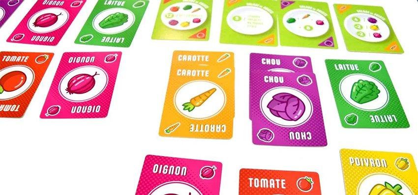 [Test] Salade 2 Points, le jeu de société de l'été !   Journal du Geek