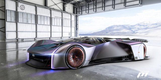 Ford Devoile Son Concept De Voiture De Course Virtuelle Ultime