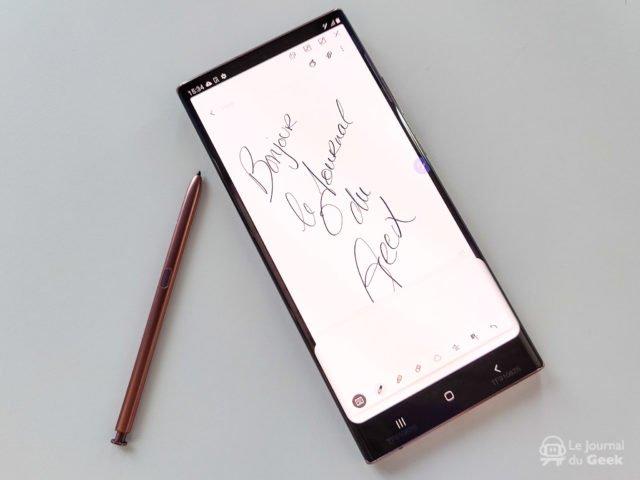Prise en main : Samsung Galaxy Note20 et Galaxy Note20 Ultra