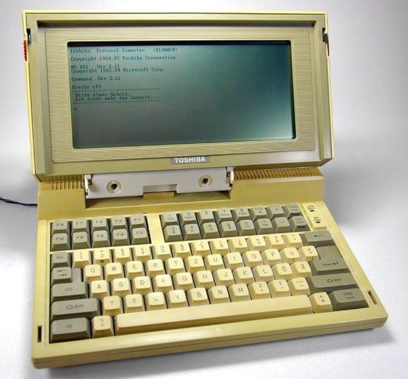 Le T1100 de Toshiba. Crédit : Johann H. Addicks, CC 3.0