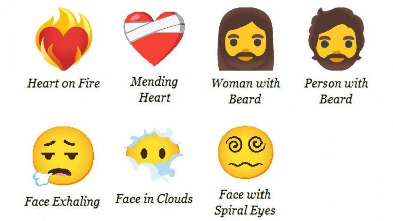 Visage fatigué, cœur blessé...Voici les nouveaux emojis pour 2021