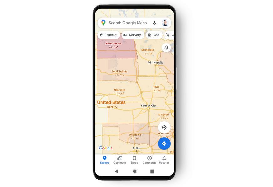 Covid-19 : Google Maps repère et cartographie désormais les zones d'infection