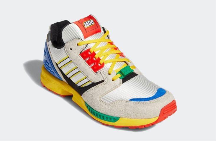 Adidas et Lego lancent une paire de baskets colorée