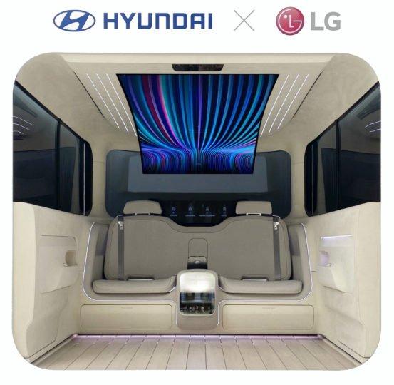 Crédit : LG, Hyundai