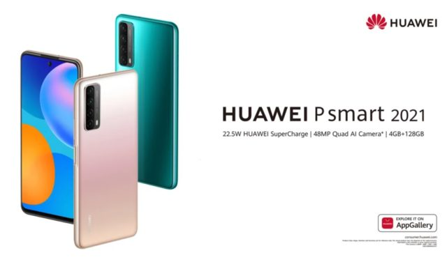 hua01 640x376 - The Huawei P smart 2021 arrives in France, without Google - journal du geek
